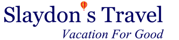 Slaydons Travel - Vacation For Good Logo
